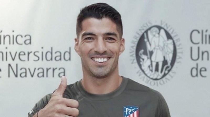 Суарес официално е играч на Атлетико Мадрид