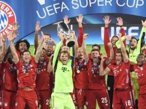 Байерн Мюнхен вдигна и Суперкупата на Европа