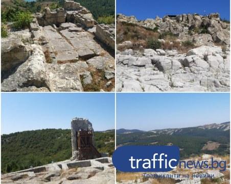На по-малко от 100 км. от Пловдив: Средновековният комплекс Перперикон