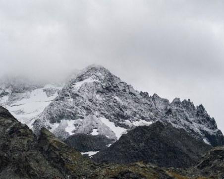 Снегът в Алпите подрани