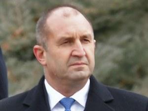 Радев изрази съболезнования на Украйна за самолетната катастрофа
