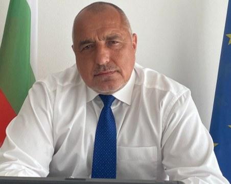 Борисов поздрави Заев за победата на изборите