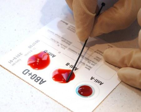 При коя кръвна група рискът от зараза с COVID-19 е най-нисък?