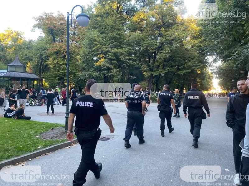 Малките ултраси, вилнели в центъра на Пловдив, скочили заради спонтанен ЛГБТ парад