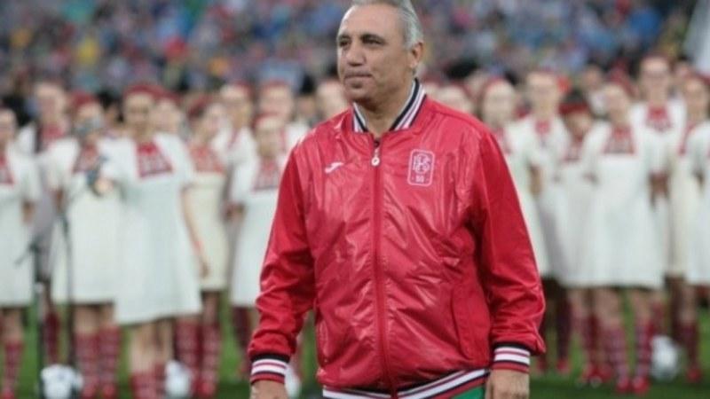 Стоичков представи собствена марка и сайт, не е оптимист за националния отбор