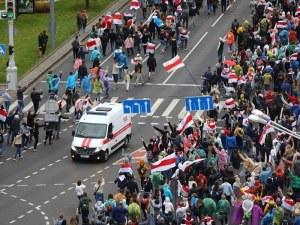 Напрежение в Беларус! Стотици задържани на протестите срещу властта