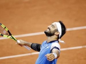 Рекорд на Ролан Гарос - вторият най-дълъг мач в историята на турнира се изигра вчера