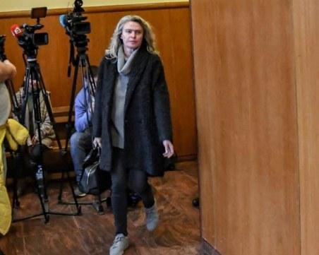 Жената на Божков излиза на свобода срещу 750 000 лева гаранция