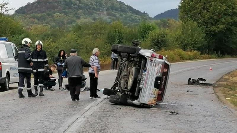 Млад мъж и жена са загинали при мелето край Велико Търново