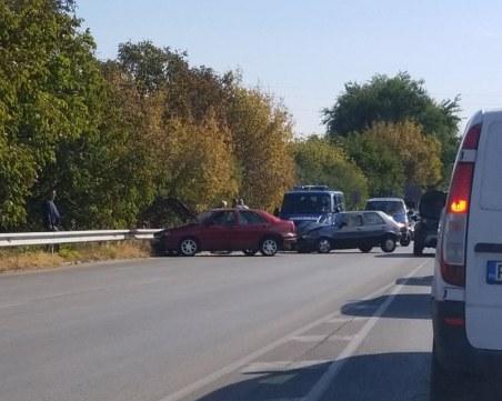 Верижно меле затапи един от изходите на Пловдив
