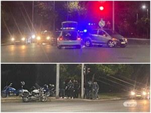 Кола блъсна мотористи край Колодрума! На място има линейка и полиция