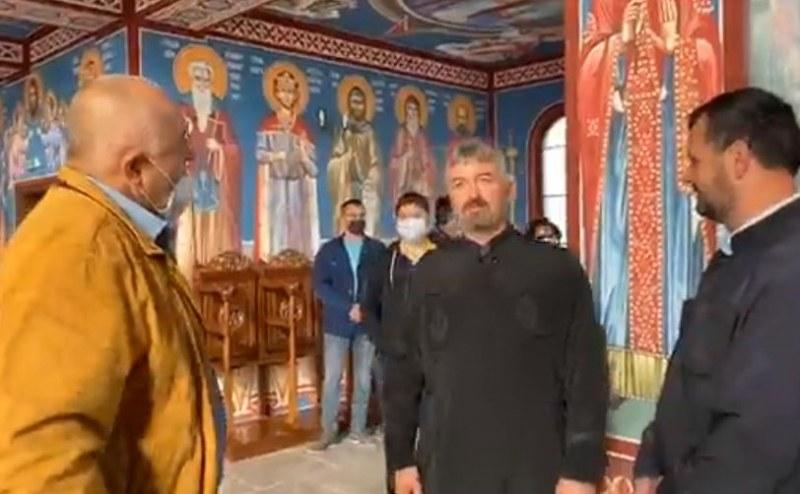 Борисов влезе в новия храм
