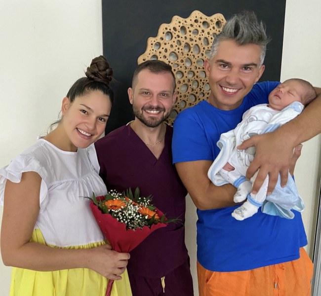 Певицата Весела Бонева роди първия си син