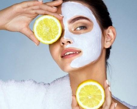 Лимон + кисело мляко: Маска за лице, идеална за по-студените дни