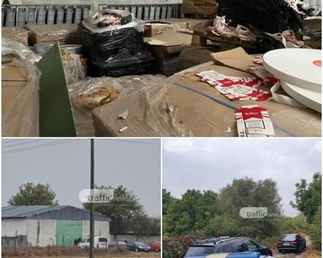 Фабриката за фалшиво Marlboro край Пловдив работила в строга конспиративност, има арестуван