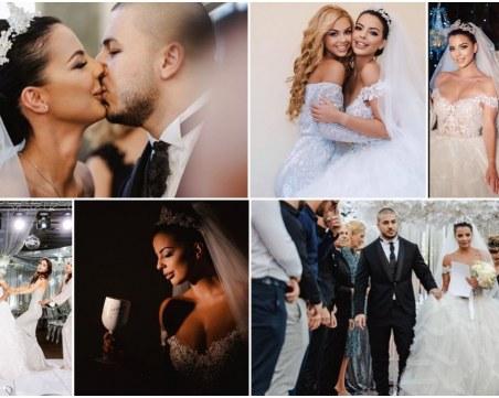 Ето ги официалните снимки от сватбата на Бисера и Юра Месропян в Пловдив