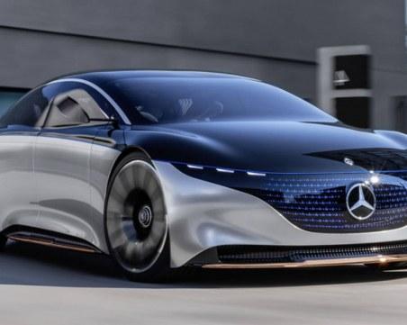 Mercedes представи новата си супер ефикасна електрическа кола
