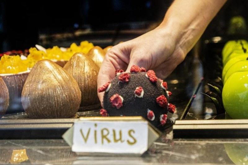 Ресторант в Прага пусна десерт с облик на... коронавирус