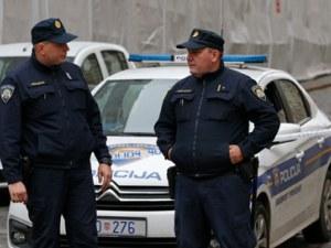Раниха полицай пред хърватския парламент