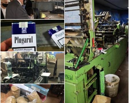 Пловдивската полиция пресече международен канал за износ на цигари в чужбина