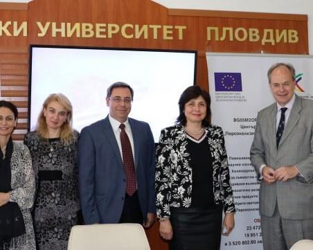 Ръст на немските студенти в МУ-Пловдив, посланикът на посещение