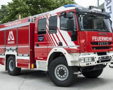 Автомобил пламна на бензиностанция в Тракия