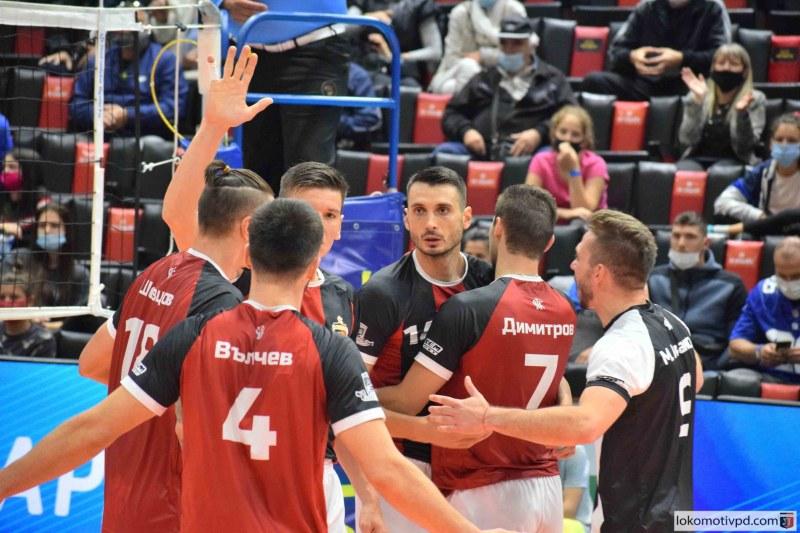 Волейболният Локомотив подчини Левски и е все по-близо до първата осмица в НВЛ