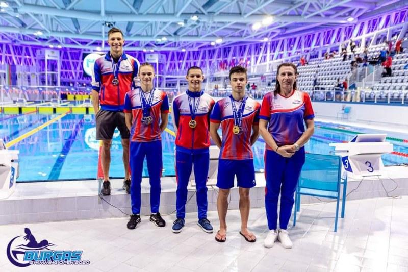 Нов национален рекорд на Владислав Терзиев на силния турнир в Бургас, триумф и в щафетата за Пловдив 2019