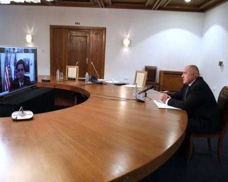 Борисов след среща с Кийт Крач: Ядрената енергетика е изключително важна за България