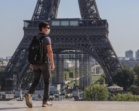 След рекордите по заразени: Францият отчете най-висока смъртност от COVID-19 от май насам