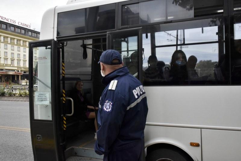 Масови проверки по автобусите в Пловдив – 6 глобени и 186 с предупреждения