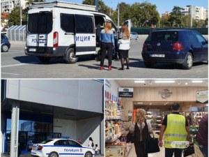 Мащабна проверка в Пловдив: РЗИ, БАБХ и МВР влязоха в големи магазини и заведения, има глобени