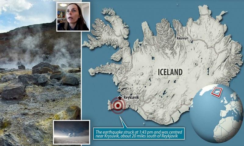 Депутати избягаха от парламента заради силно земетресение в Исландия