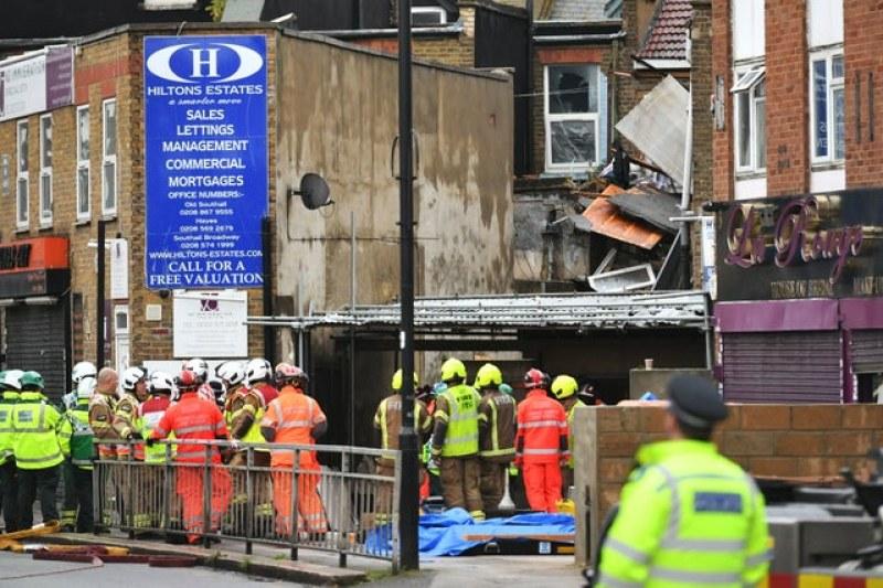 Мощна газова експлозия разтърси Лондон! Най-малко двама души са мъртви