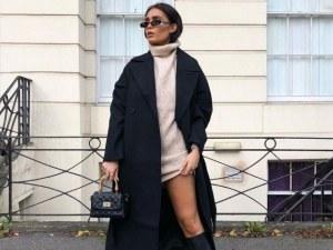 Как да комбинираме черното палто тази есен? Ето няколко предложения