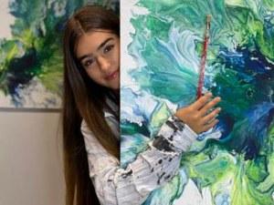 Пловдивчанката Елия от 4Magic представя първата си изложба с картини