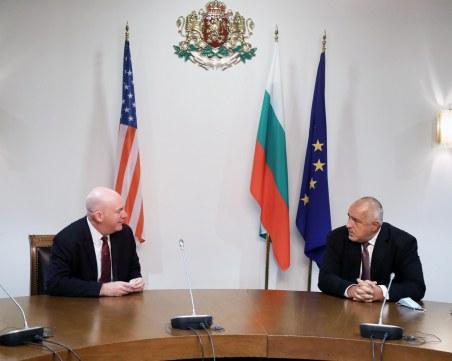 Борисов: България и САЩ са съюзници и стратегически партньори
