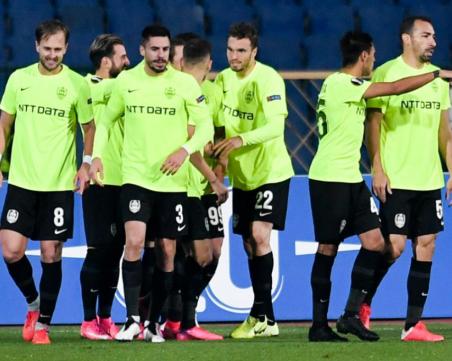ЦСКА загуби от Клуж в София първи си мач от групите на Лига Европа
