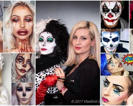 Хелоуин & К-19: Бюти артистът Калина Валериева със съвети за ефектна визия и грим с маска