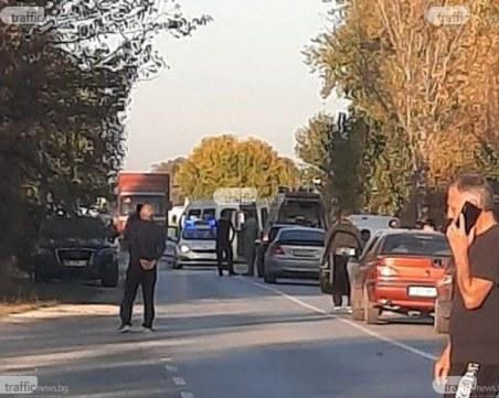 Арестуваха шофьора, причинил тежката катастрофа с мотор край Пловдив