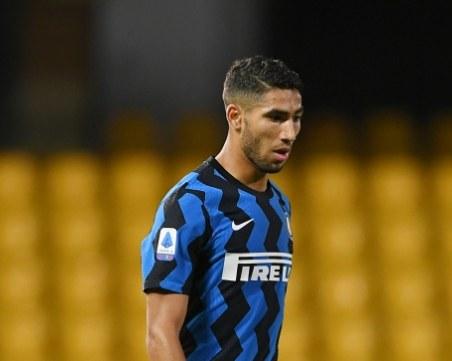 Интер съди УЕФА заради фалшив COVID тест на Ашраф Хакими