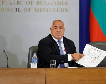 Борисов: Дадох за пример европейска България и на Макрон, и на Ердоган