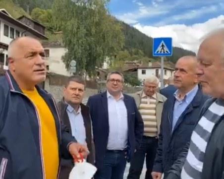 Кметът на Широка лъка е с положителен тест за Covid-19 след посещението на Борисов