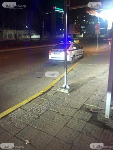 Скандал пред пловдивски магазин: Пиян мъж размаха пистолет, арестуваха го