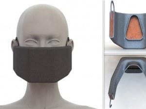 Дизайн на бъдещето: Защитна маска, която унищожава коронавируса