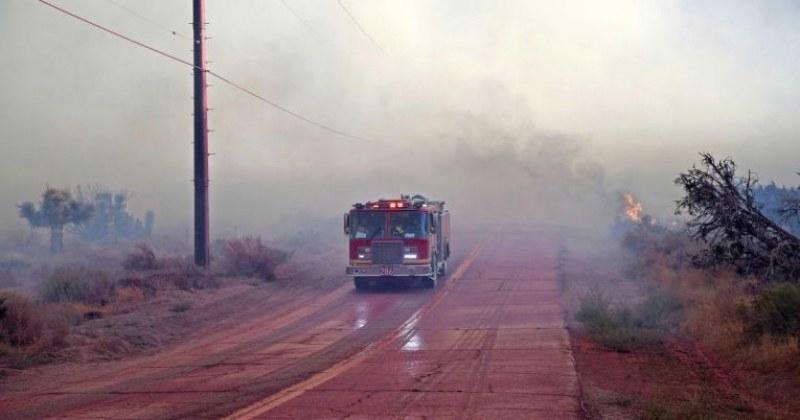 60 000 души бяха евакуирани поради пожар в Калифорния