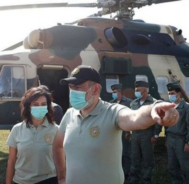 Съпругата на арменския премиер сформира женски отряд и заминава за Нагорни Карабах