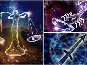 Какво очаква Везни, Скорпион и Стрелец през месец НОЕМВРИ?