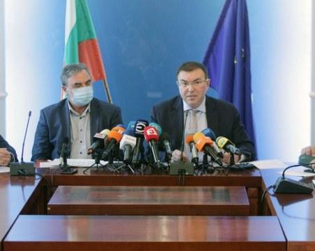 Без здравния министър, Кунчев и Мутафчийски на утрешния брифинг на Щаба
