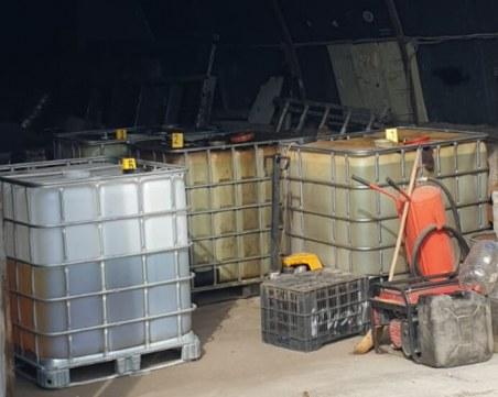 Незаконна бензиностанция откриха в Дупница